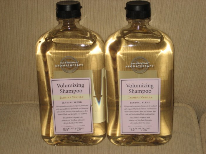 1 bottle of Jasmine Vanilla Volumizing Shampoo