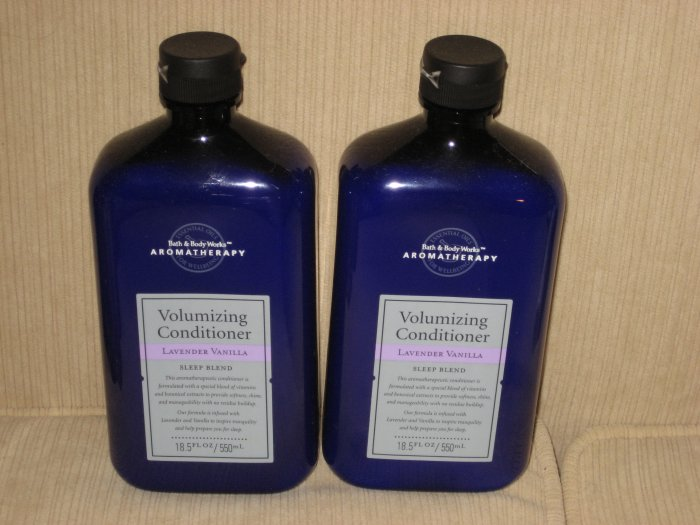 2 Bath & Body Works Lavender Vanilla Volumizing Conditioner
