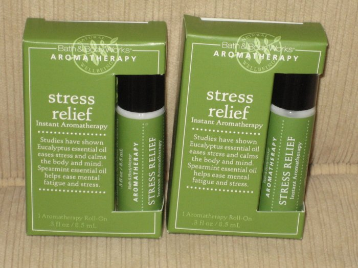 Bath & Body Works Stress Relief Instant Aromatherapy Roll-On