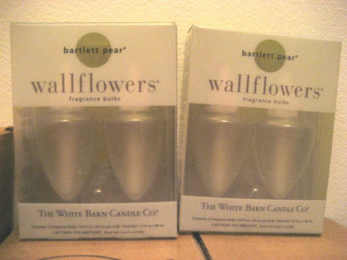 2 Bath & Body Works Bartlett Pear Wallflowers