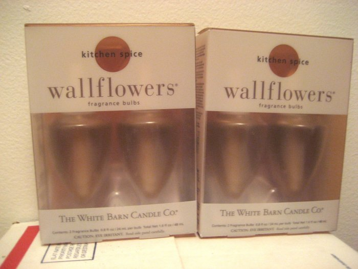 2 Boxes KITCHEN SPICE Wallflowers refill