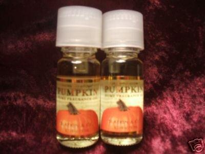 2 Bath & Body Works pumpkin fragrance oil