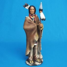 Native American with Spear