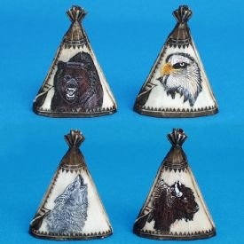 Tepee Figurine Small(BEAR)