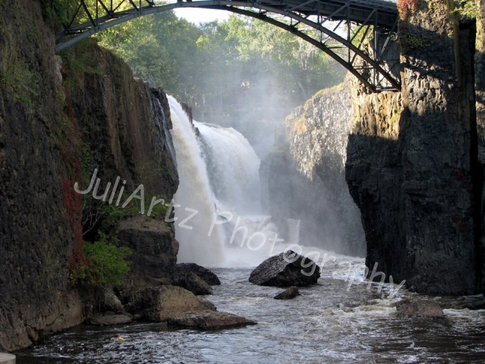 GREAT FALLS of PATERSON-Photographic Art-8 x 10 photograph print