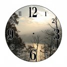 Night Lights Wall Clock