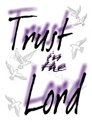 Trust in the Lord T-Shirt Religious