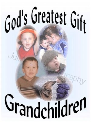 God's Greatest Gift Grandchildren T-Shirt CUSTOM