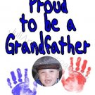 Proud Grandfather T-Shirt CUSTOM
