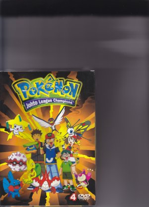 POKEMON S4 JOHTO LEAGUE CHAMPIONS DVD 1-52 Episodes