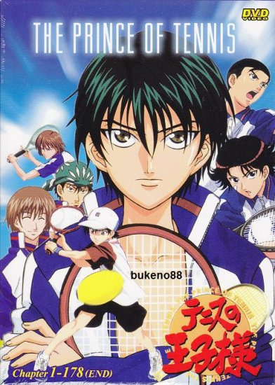 THE PRINCE OF TENNIS 1-178 (End) TV + Special 6 DVD