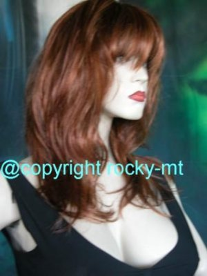 OCHHHHHH TOTAL BABE WATCH WIG. REAL LOOKING SKIN TOP LAYERED
