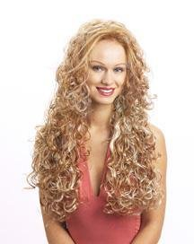 3/4 HAIR EXTENSION WIG COMBS TOP AND BOTTEM