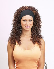 audrey head band extension wig