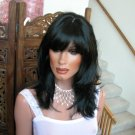 Layered sexy skin top wig