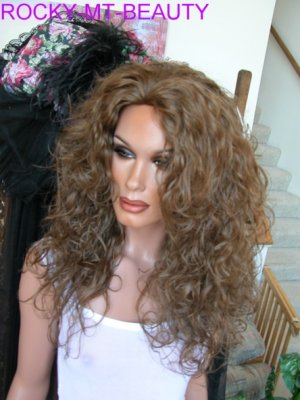 susan  3/4 wig hair extension