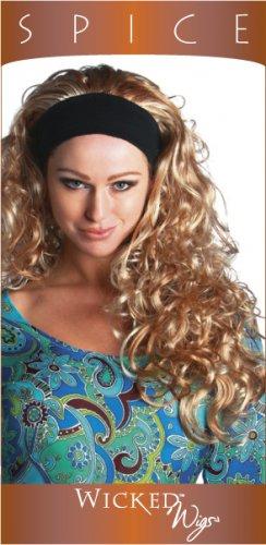 Spice 3/4 Headband wig