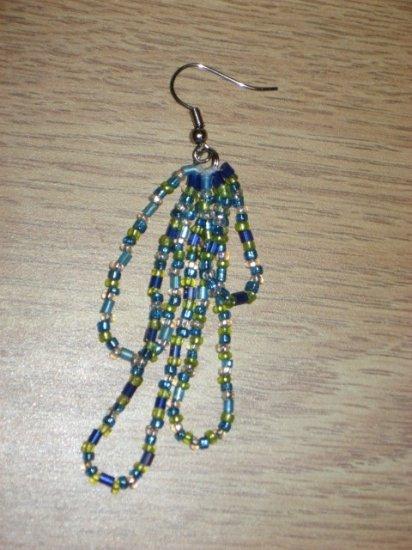 Beaded Dangle Earrings 03