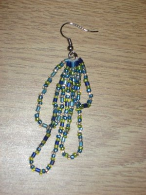 Beaded Dangle Earrings 03
