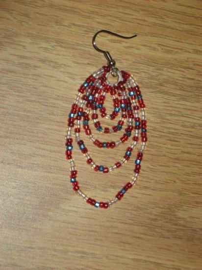 Beaded Dangle Earrings 04