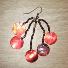 Beaded Shell Earrings 01