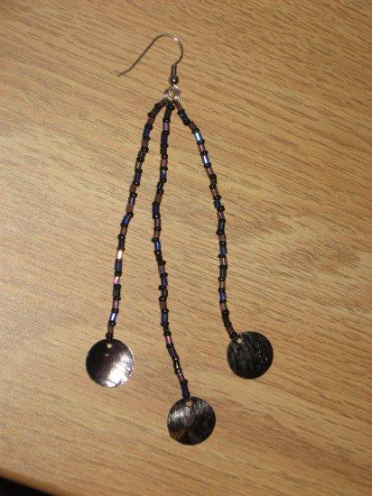 Beaded Shell Earrings 03