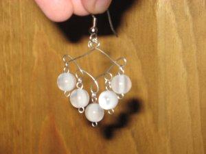 Beaded Wire Earrings 07