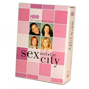 Sex and the City Seasons 1-6 Complete DVD Boxset 20 DVD's Includes Bonus Disc - Free Shipping