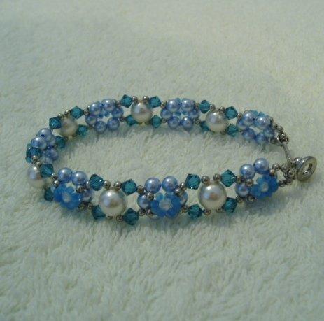 Pearl of Blue Ocean Bracelet