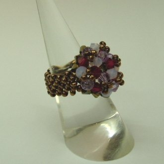 Ruby In Rocks Ring