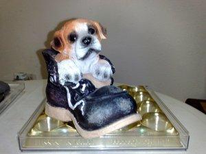 Dog In Shoe Coinbank
