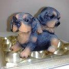 Dog Twins Coinbank