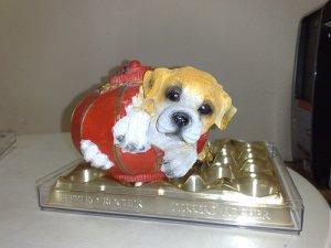 Dog In Lantern Coinbank