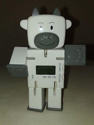 Cow Design Digital Clock