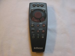 InFocus Systems M#590-0198-01 remote control