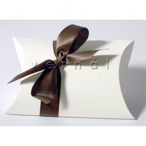 White Pillow Favor Box / Boxes - 6x4 (Set of 10)