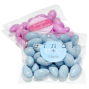 Clear Cello Favor Bag / Bags - Flat - 3x8 (set of 10)