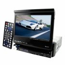 Breath Taking Single DIN Motorised 7 Inch Car DVD + Ipod In