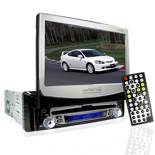 Innovative 7 Inch Touchscreen Single DIN Car DVD + Super Sound
