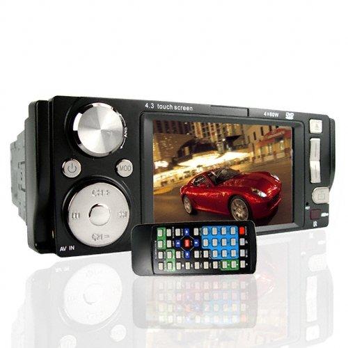 4.3 Inch Touchscreen BluetoothCar DVD + TV