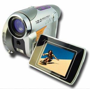 High Resolution Digital Camcorder + Camera - 2.4 Inch TFT Screen