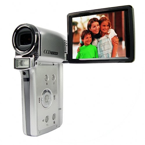 High Resolution Digital Camcorder + 3x Optical Zoom - 3 Inch TFT