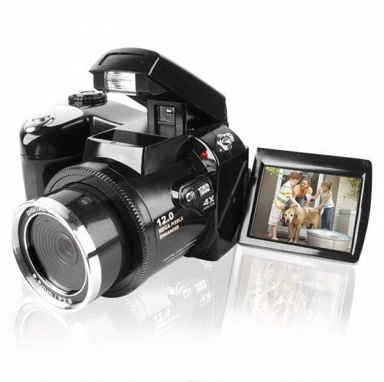 Dual Powered 5.0M Pixel Digital Camera - 3 Function Modes