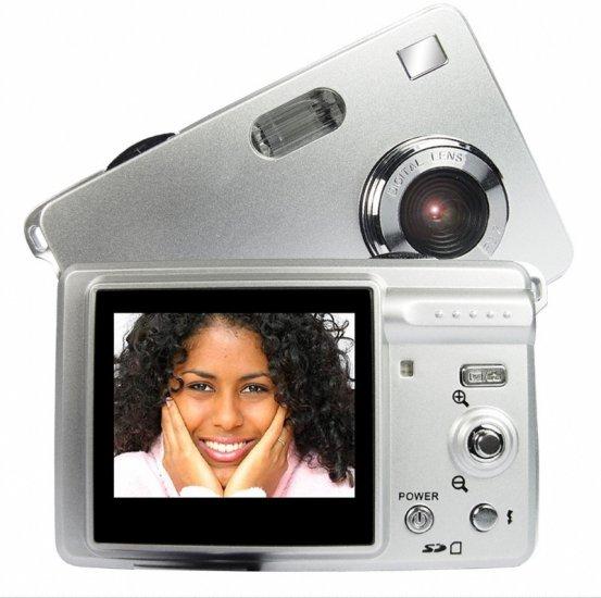 CMOS Digital Camera - 5.0M Pixel + Rechargeable Li-ion Battery