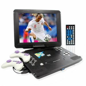 Monster Screen 12.5 Inch Portable DVD Player with Games