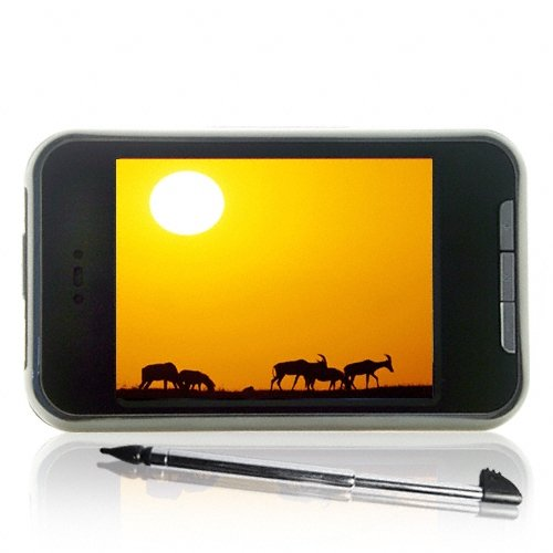 Touchscreen MP4 Player + Video Camera 8GB