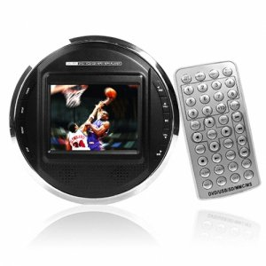 Portable DVD Player - 3.5 Inch Screen + Super Audio Settings