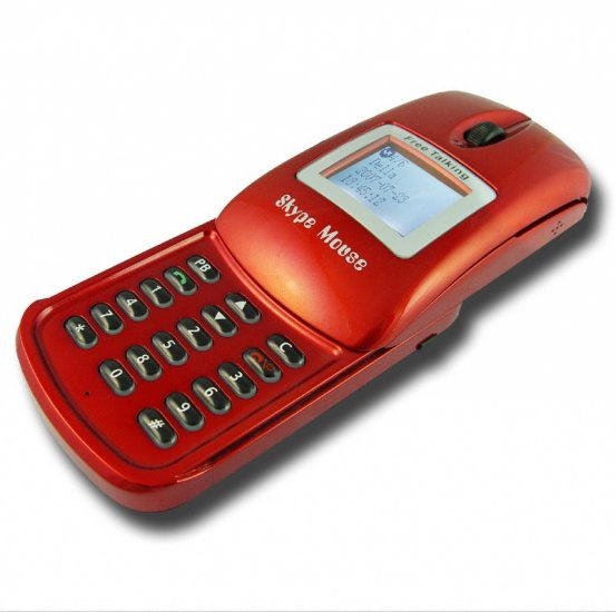 Skype Mouse VOIP Phone - Sliding Cover