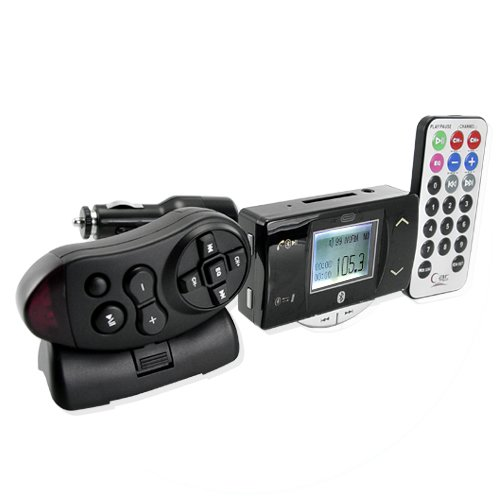 Flexible Bluetooth Car Kit with A2DP - Safety + Entertainment