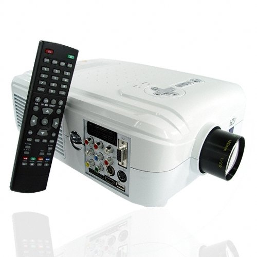 Superb LCD Home Theatre Media Projector with HDMI and DVB-T